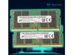 Micron 64GB (2X32GB) MTA16ATF4G64HZ-3G2E1 Laptop Memory CP4-25600 SODIMM DDR4-3200 2RX8 1.2V