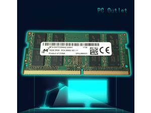 MTA16ATF2G64HZ-2G6E1 Micron 16GB DDR4 SODIMM Non ECC PC4-21300 2666MHz 2Rx8 Notebook/Laptop Memory