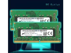 Micron 16GB(2X8GB) PC4-21300V SODIMM DDR4-2666MHz 1RX8 Unbuffered Laptop Memory RAM MTA8ATF1G64HZ-2G6E1