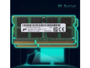 Micron  16(2X8GB) 2RX8 PC3L-12800S DDR3L 1600MHz 1.35V SODIMM Laptop Memory RAM MT16KTF1G64HZ-1G6E1