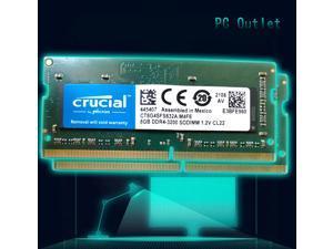 Crucial 8 gb DDR4 3200 LAPTOP RAM PC4 25600 SODIMM Laptop Memory 260-PIN CL22 CT8G4SFS632A.M4FE