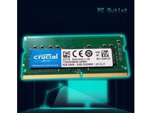 Crucial 8 GB DDR4 2400 LAPTOP RAM PC4 19200 SODIMM Laptop Memory 260-PIN CL19 CT8G4SFS824A.C8FBR1