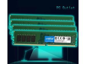 NEW Crucial CT16G4DFD824A 64GB(2X16GB) DDR4-2400 SODIMM CP4-19200 Notebook/Laptop Memory Module CL17