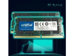 Crucial 8GB(2X4GB) CT51264BF160B.C16FER2 PC3-12800 SODIMM DDR3 1600 Laptop Memory RAM