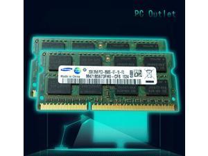 Samsung M471B5673FH0-CF8 4GB(2X2GB), PC3-8500 DDR3-1066 SDRAM 1066 MHz SO DIMM Memory