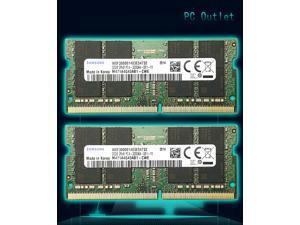 64GB (2X32GB) Samsung M471A4G43AB1-CWE PC4-3200AA Laptop Memory RAM 260-pin DDR4 3200MHz SODIMM 1.2V