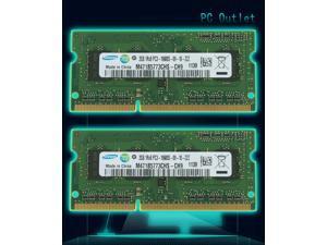 For Samsung M471B577CHS-CH9 RAM  4GB(2X2GB)  204-PIN DDR3 SO-DIMM 10600S  Laptop Memory Lot