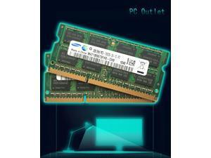 Samsung PC3-10600 4GB(2X2GB) SO-DIMM 1333 MHz DDR3 2RX8 SDRAM Memory (M471B5673FH0-CH9)