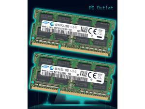 Samsung 16GB(2X8GB) DDR3-1600 SODIMM PC3L-12800 Laptop Ram Memory M471B1G73EB0-YK0