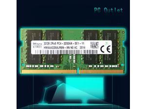 32GB Hynix HMAA4GS6AJR8N-XN DDR4 3200MHz SODIMM 260-pin Laptop Memory RAM PC4-3200AA 3200 1.2V