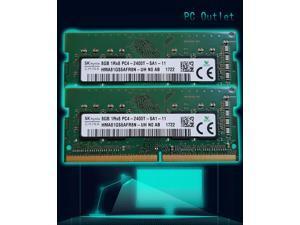 16GB(2X8GB) 1Rx8 PC4-2400T DDR4 260Pin SODIMM Laptop Notebook Memory RAM SK Hynix HMA81GS6AFR8N-UH