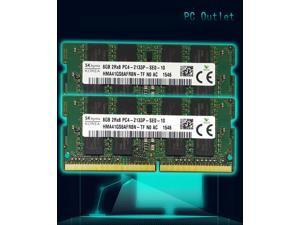 SK hynix DDR4 16GB(2X8GB) 2Rx8 PC4-2133P SODIMM Memory RAM HMA41GS6AFR8N-TF