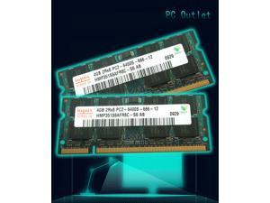 Hynix 8GB(2X4GB) (1 Stick) HMP351S6AFR8C-S6 PC2-6400 DDR2 800 SODIMM Laptop Memory RAM