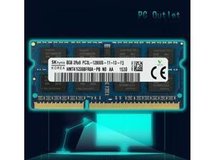 SK Hynix 8GB HMT41GS6BFR8A-PB PC3L-12800 Laptop SODIMM DDR3L 1600 MHz 204pin Memory RAM 1.35V