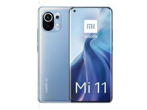 "Xiaomi Mi 11 5G, 6.81"" WQHD+ AMOLED DotDisplay, 256GB + 8GB RAM, 108MP Triple Camera, Qualcomm® Snapdragon™ 888, Harman Kardon Speakers, International Version - Horizon Blue"