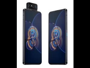 ASUS ZenFone 8 Flip (ZS672KS) 8/128 (GSM ONLY NO CDMA) Unlocked | 8GB/128 GB | Galactic Black