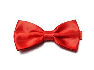 Noeud Papillon de Smoking Bowtie pour Hommes - bright red
