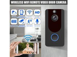 1080P Wifi Doorbell Intercom Wireless Door Bell Camera Remote Video PIR Security -