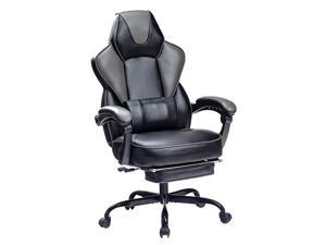 VON RACER Reclining Gaming Chair with Large Lumbar Support Cushion Racing Style Video Game PC Computer Gamer Gaming Chairs Ergonomic Office High Back Chair