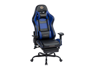 Kasorix Gaming chair Ergonomic Chair Desk Chair,PU Leather Gamer Chair Big and Tall Adjustable Height Computer Chair With Footrest And Lumbar Support