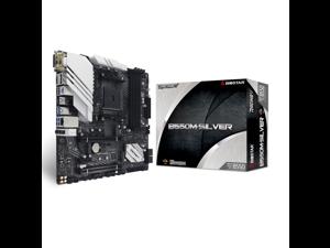 Biostar B550M-Silver AMD AM4 PCIe 4.0 Micro ATX Gaming Motherboard