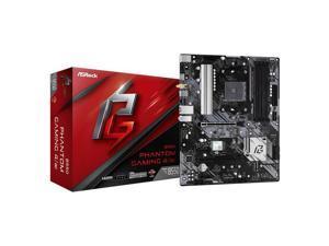 ASROCK B550 PHANTOM GAMING 4 AC Socket AM4/ AMD B550/ DDR4/ Quad CrossFireX/ SATA3&USB3.2/ WiFi&Bluetooth/ M.2/ ATX Motherboard