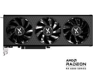 XFX SPEEDSTER QICK308 RADEON RX 6600 XT BLACK Gaming Graphics Card with 8GB GDDR6 HDMI 3xDP, AMD RDNA 2 (RX-66XT8LBDQ)