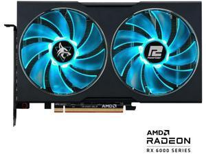 PowerColor Hellhound Radeon RX 6600 XT 8GB GDDR6 PCI Express 4.0 ATX Video Card 6600XT 8GBD6-3DHL/OC