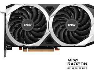 MSI Mech Radeon RX 6600 XT 8GB GDDR6 PCI Express 4.0 ATX Video Card RX 6600 XT MECH 2X 8G OC