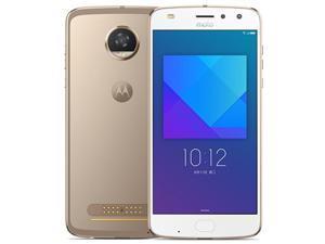 Lenovo Moto Z2 Play 5.5 Inch NFC Fingerprint 4GB RAM 64GB ROM Snapdragon 626 Octa core 4G Smartphone - Gold (gold)