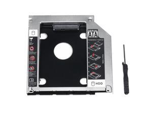 """SATA Notebook Hard Drive Bay HDD SSD Caddy Adapter For MacBook Pro 13"""" 15"""" 17"""" -"""