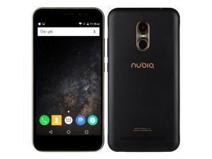 ZTE Nubia N1 Lite 5.5 inch Fingerprint 2GB RAM 16GB ROM MTK6737 Quad Core 4G Smartphone - Black gold