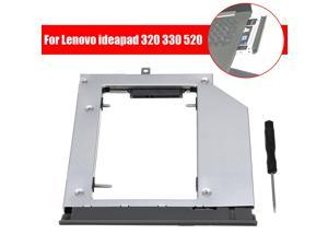 Optical Hard Drive Bay Cd-Rom Caddy Case For Notebook ideapad 320 330 520 -