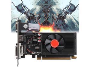 HD6450 2GB DDR3 64Bit PCI-Express VGA DVI HDMI Video Game Graphics Car For ATI -