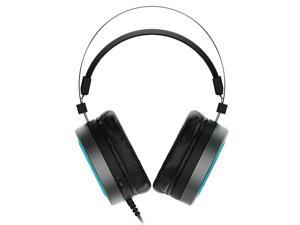 Rapoo VH530 Gaming Headset 7.1 Channel USB Surround Sound Breathing LED Backlight Headphone with Microphone for Computer Profession Gamer -