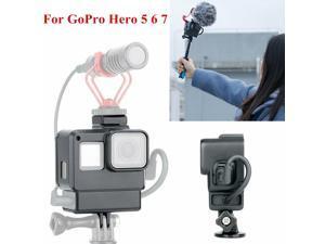 Ulanzi V2 Vlog Case Housing Shell For GoPro Hero 5 6 7 Vlogging Cage Frame Black -