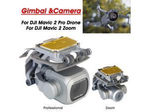 Gimbal &Camera 4K HD Video Replacement Genuine For DJI Mavic 2 Pro Drone/DJI Mavic 2 Zoom - Silver
