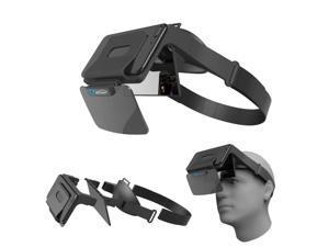 3D VR Viewer Helm Brille Virtual Reality F r 4,5 inch - 5,5 inch Telefon Filme TV Game - 210cm x 150cm