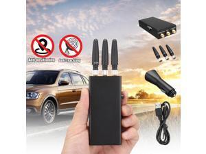 Handheld Car GPS Mobile Phone Signal Lighter Phone Signal Detector Finder Jammer -