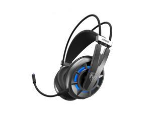 SOMiC G939AIR 2.4GHz Wireless LED Light 7.1 Channel Surround Sound Stereo Gaming Headphone Headset with Mic -