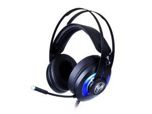 SOMiC G200 20Hz-22KHz USB Wired LED Light Virtual 7.1 Surround Sound SVE Vibration Gaming Headphone Headset -