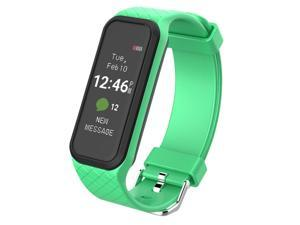 X2 Smart Bluetooth Wristband Waterproof Heart Rate Monitor Fitness Tracker Smart Watch Bracelet For Android IOS Phone Sport - Green (green)