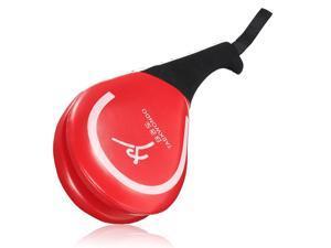 2pcs Taekwondo Double Kick Training Pad Target Tae Kwon Do Karate MMA Kickboxing Gear Red -