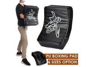 Arc-shaped MMA Kick Boxing Pad Target Taekwondo Muay Thai Focus Training Shield Home Gym Fitness Trainer - 40x20x10cm