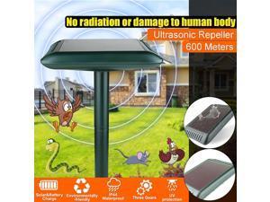 Solar Power Ultrasonic Snake Mouse Pest Killer Repeller Control Three Gears -