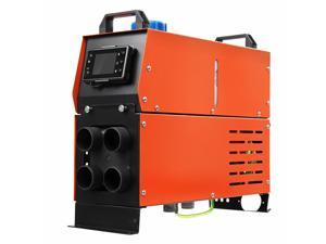 12V 5000W All In One Diesel Air Heater Two Working Modes For Cars Buses RVs Trucks Engineering Vehicles Various Diesel Mechanical Vehicles - Four holes