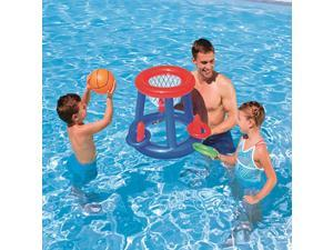Outdoor Sports Inflatable Beach Toys for Swimming Pool Basketball Football Volleyball Game#Basketball -