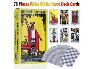 78 Pieces Rider Waite Tarot Deck Cards English Full Version Commemorative Edition -