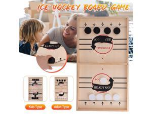 Mini Air Hockey Table Ice Hockey Toy Table Hockey Game Classic Battle Board Game Fast Ice Hockey Adult Sports Board Game Children Party Family Interactive Game Toys - Adult