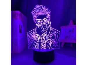 Anime Lamp Kento Nanami Light Jujutsu Kaisen Led Night Light for Birthday Gift Jujutsu Kaisen Nightlight Kento Nanami Lamp